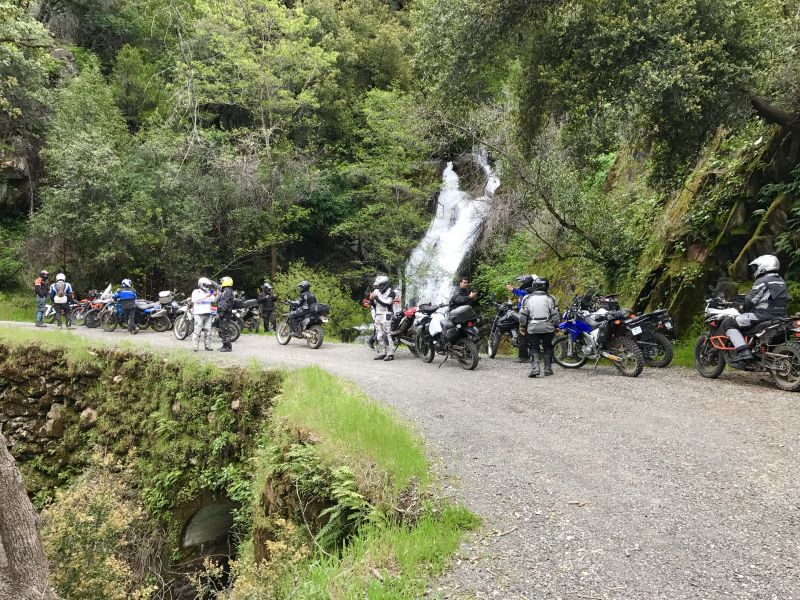 People Enjoying American Canyon Ride