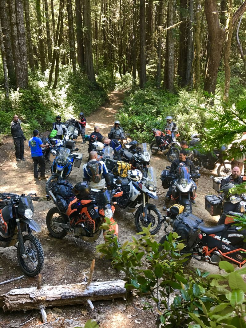 People Enjoying Lost Coast Adventure