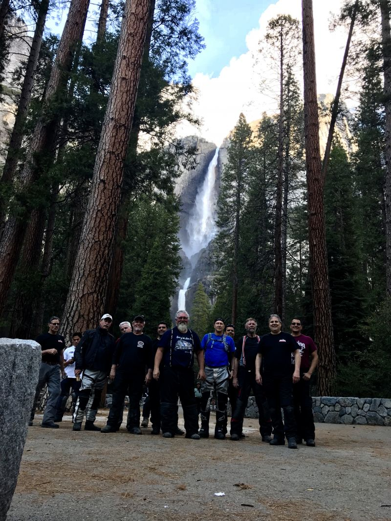 People Enjoying Yosemite Adventure
